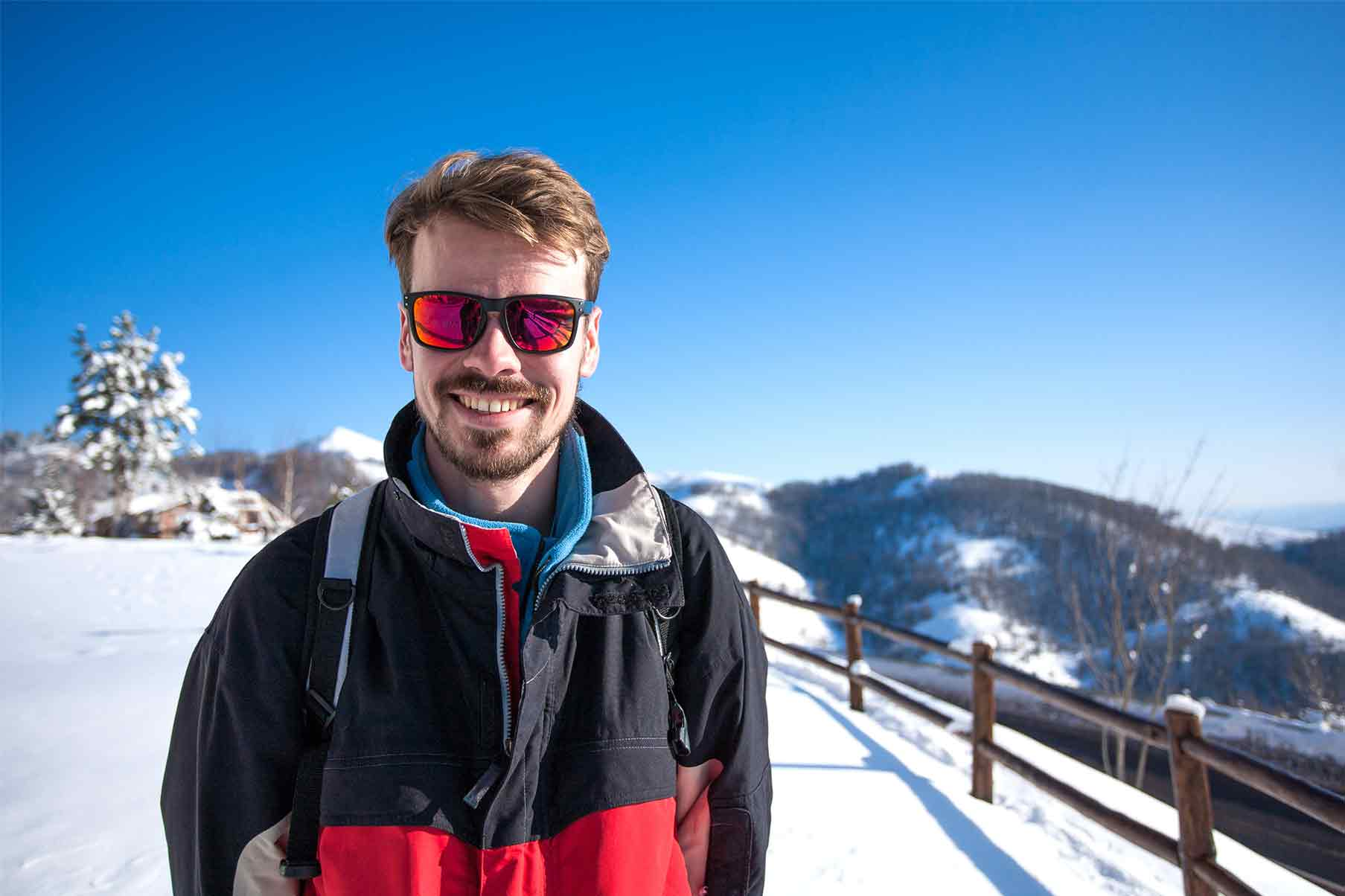 The Importance of Wearing Sunglasses in Winter!